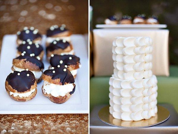 white buttercream cake