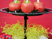 Spiderweb Cupcake Toppers