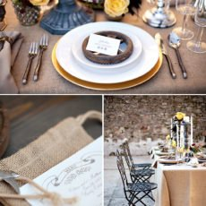 steampunk tablescape