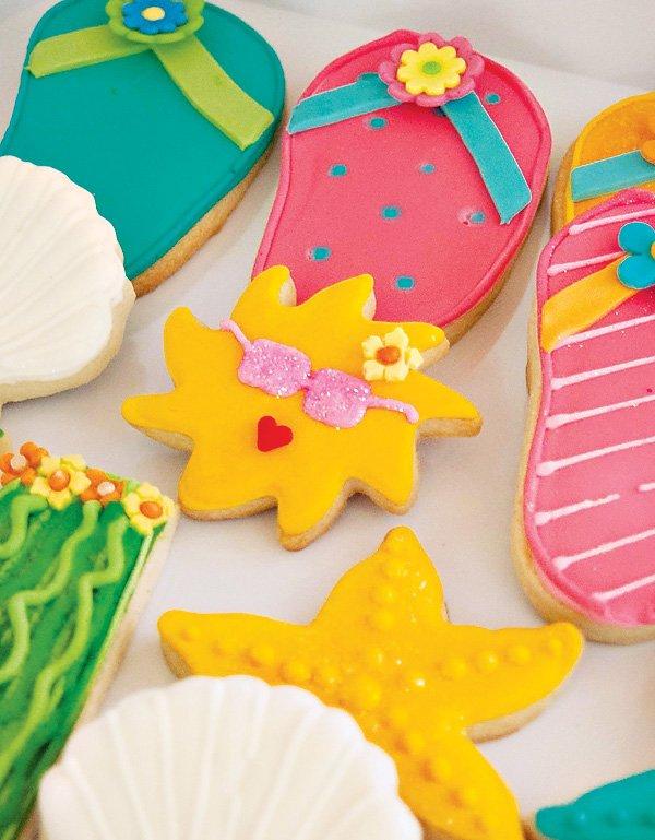 sun cookies