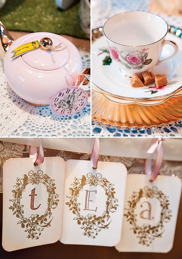 tea time signs