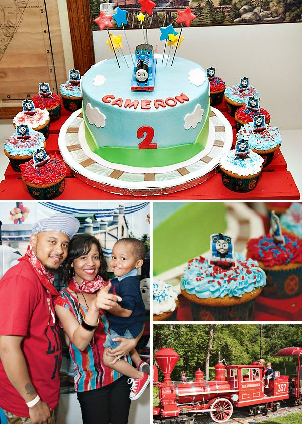 Thomas the Train Engine Themed Birthday Party