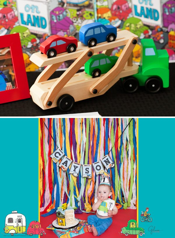 Car Themed Party Decorations