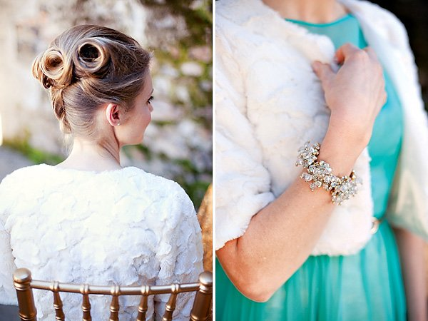 inspired wedding hair