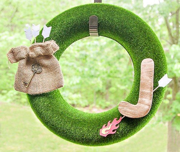 zelda party wreath