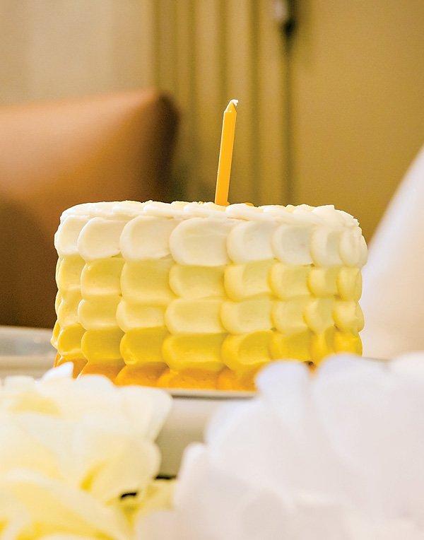 yellow smash cakes