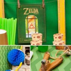 zelda video game party