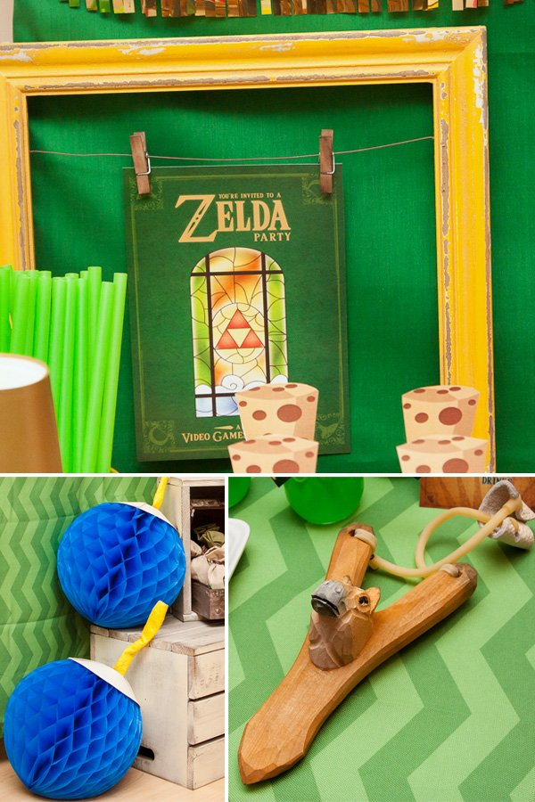 zelda video game party