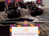 Halloween Food - Rotten Eyeballs