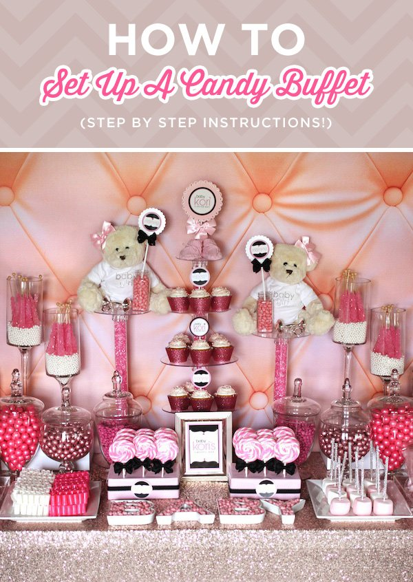 Awesome How To Set Up A Candy Buffet Step By Step Instructions Interior Design Ideas Tzicisoteloinfo