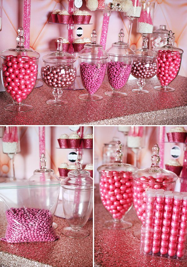 how to set up a candy buffet step by step instructions, Baby shower