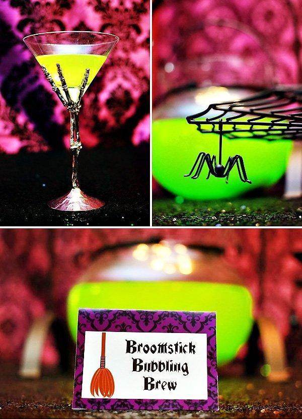 creepy halloween drinks