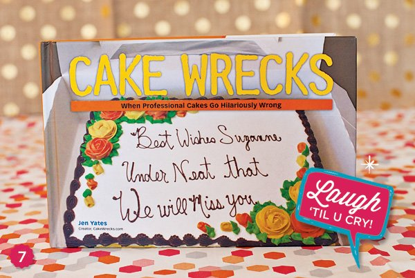 Cake Wrecks book
