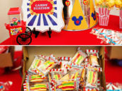 carnival candy station