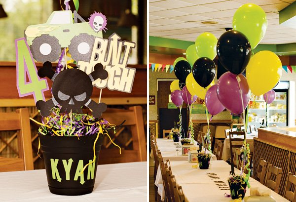 Epic Grave Digger Themed Monster Jam Party Hostess With