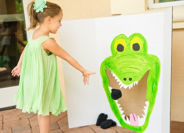 Peter Pan Crocodile Bean Bag Toss