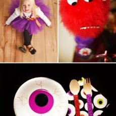 cute monster halloween bash