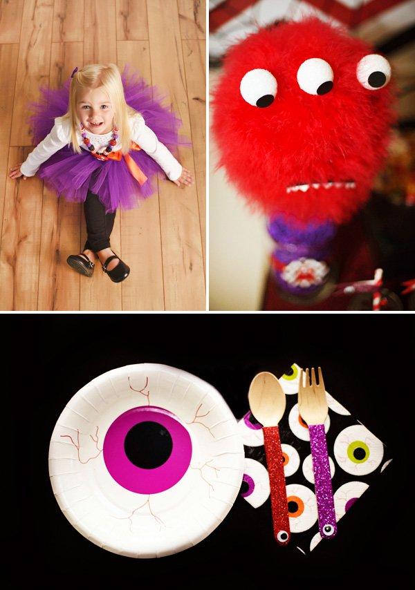 cute monster halloween bash