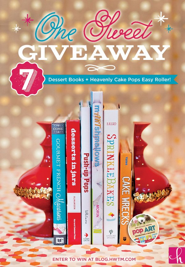 Dessert Books Giveaway