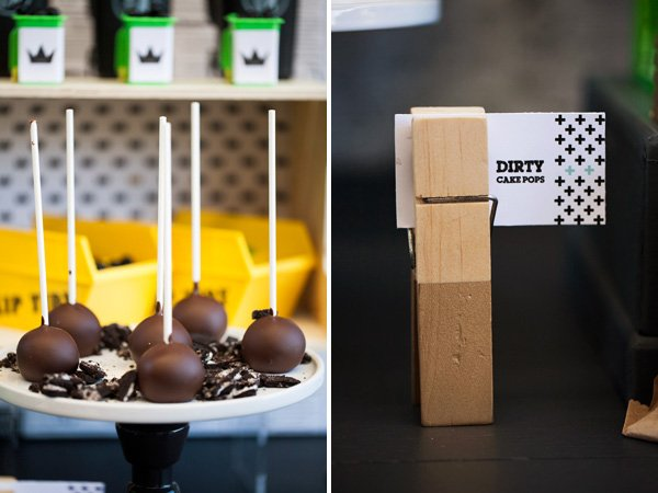 dirty cake pops