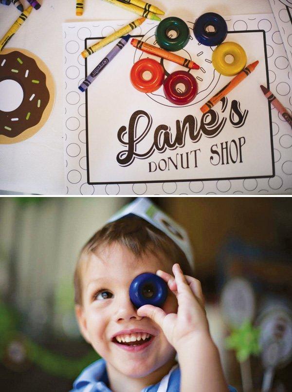 donut crayons