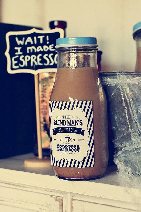 espresso labels