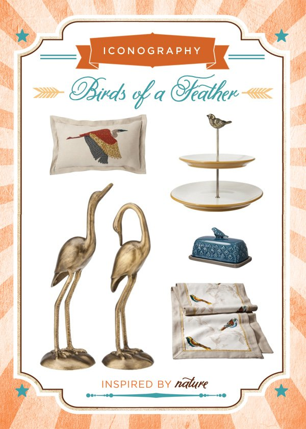Fall Inspiration - Bird Inspired Products