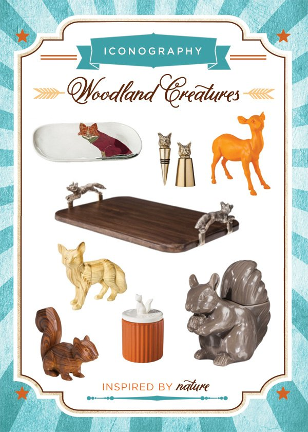 Fall Inspiration - Woodland Creature Inspired Products