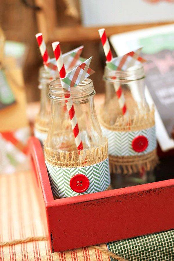 fall inspired bottle wraps