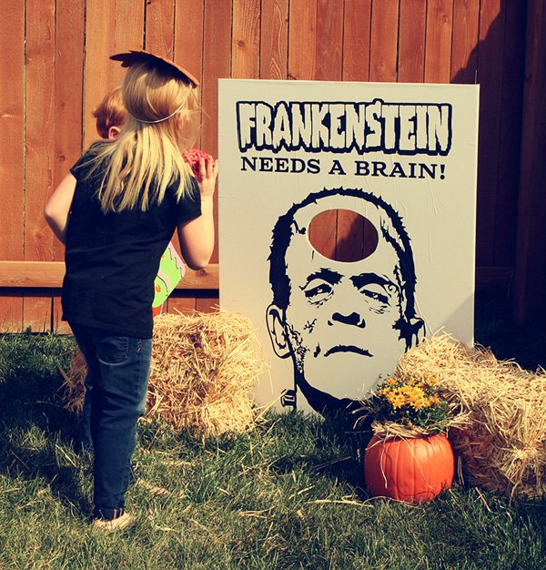 frankenstein halloween game
