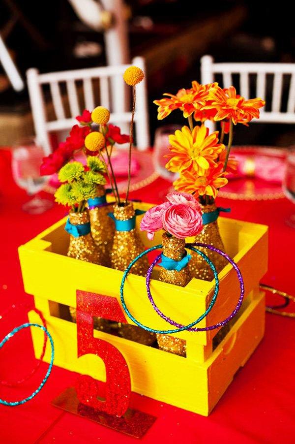 Vibrant carnival bat mitzvah theme ideas hostess with