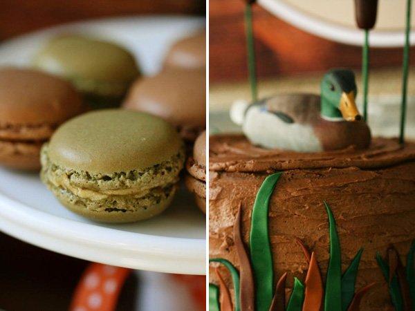 marshy green macarons