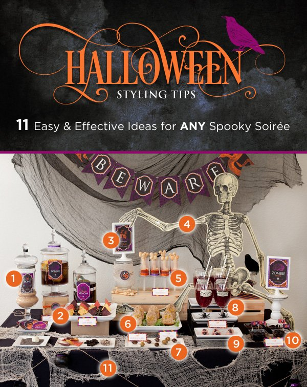 Easy & Effective Halloween Party Styling Ideas