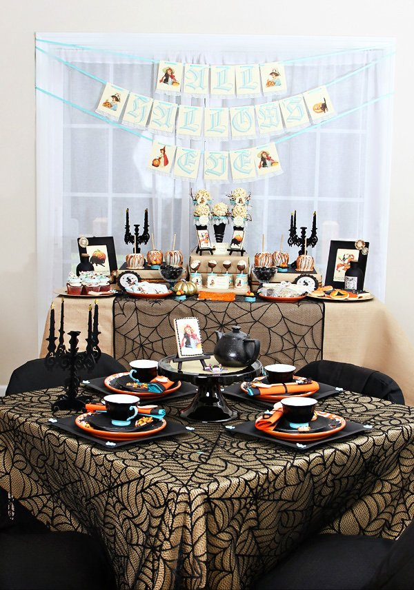 halloween tea party