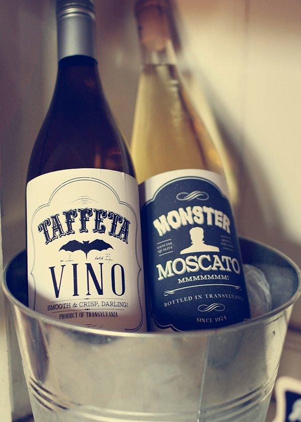 halloween printable wine labels