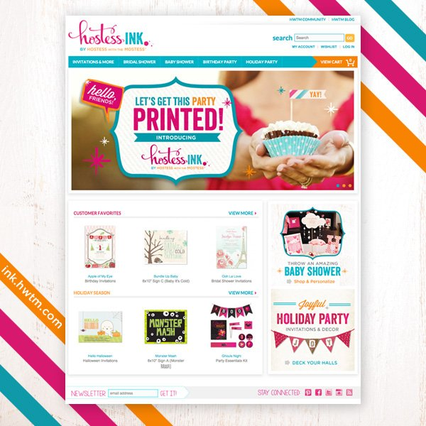 Hostess Ink - Stylish Paper Party Decor
