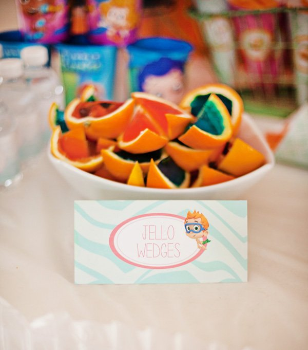 Cheerful bubble guppies party ideas hostess with the mostess - Bubble guppie birthday ideas ...