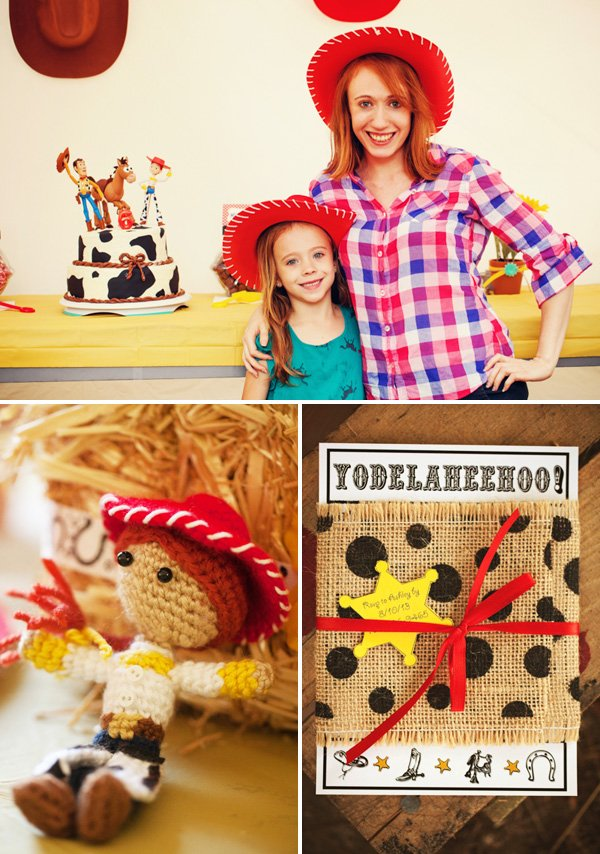 jessie the cowgirl party