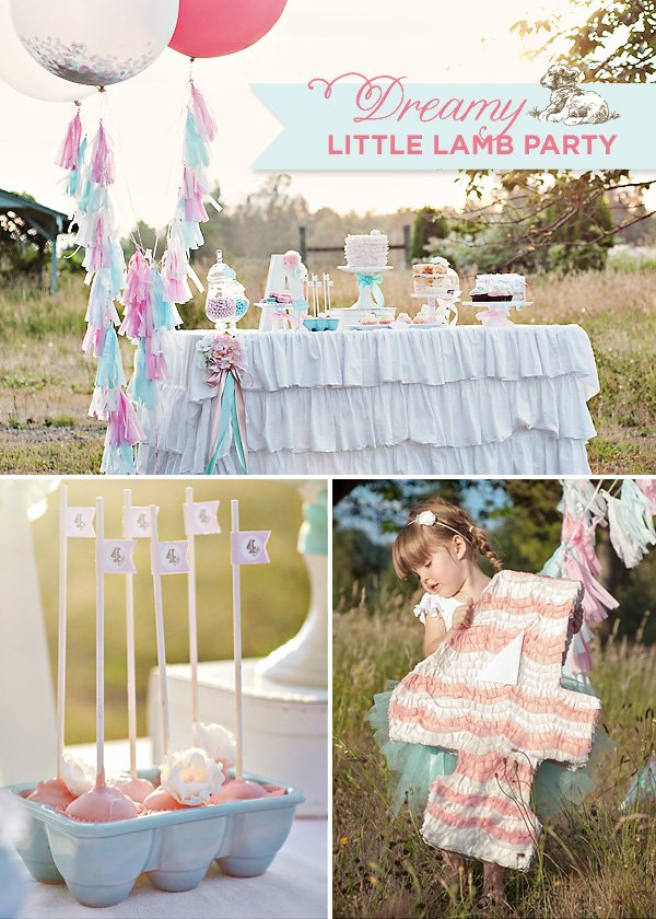 dreamy little lamb party