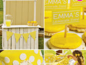 Yellow Lemonade Stand