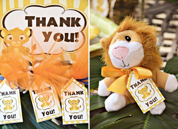 lion king party favors
