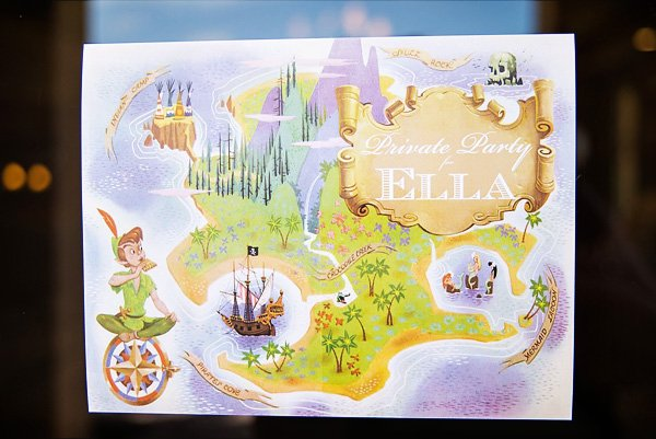 Neverland Map Party Invitation
