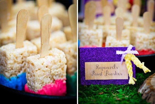 rapunzel party desserts