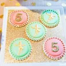 Pretty Peter Pan Cookies