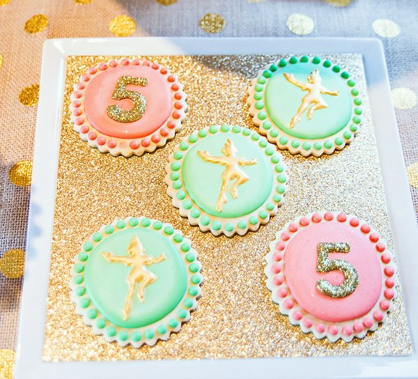 Pretty Peter Pan Cookies