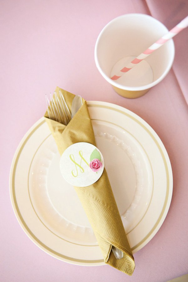 princess place setting