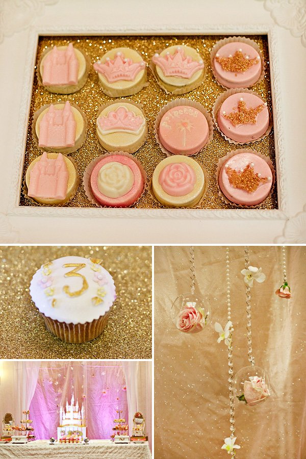 {Pink & Gold} Royal Princess Birthday Party // Hostess with the Mostess®