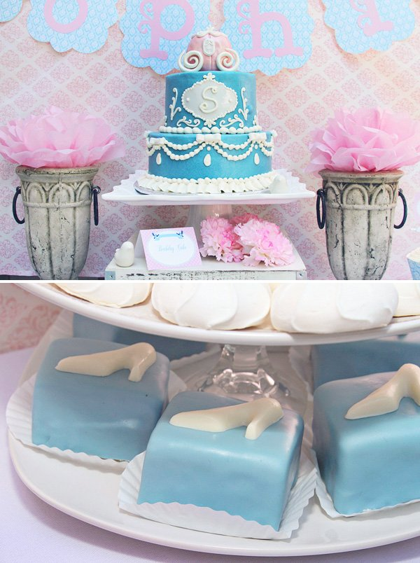 Pretty Pink Royal Cinderella Birthday Party Hostess with the