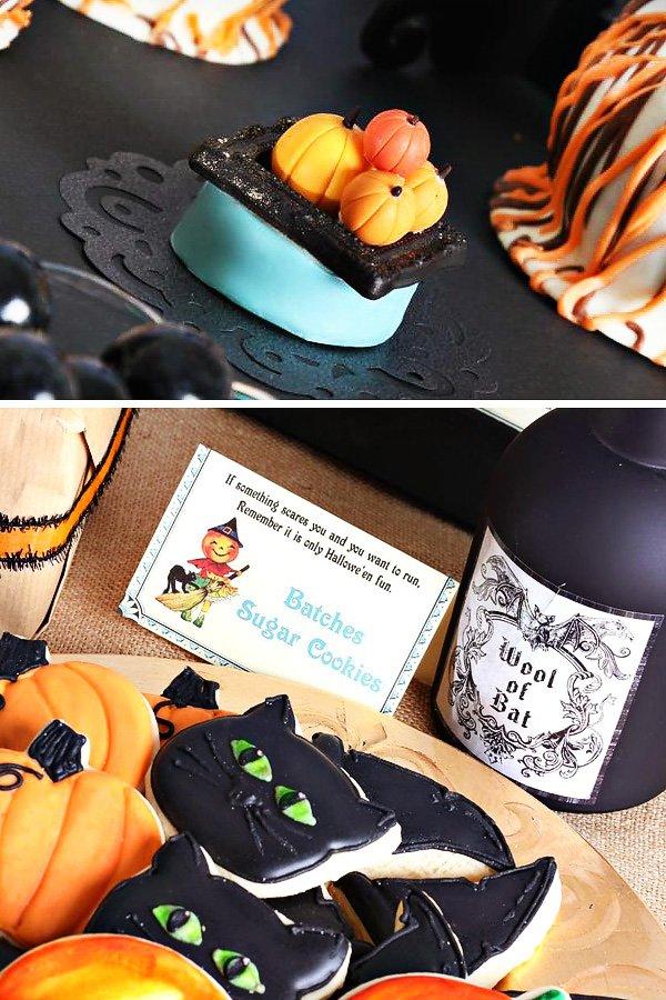 pumpkin oreo toppers