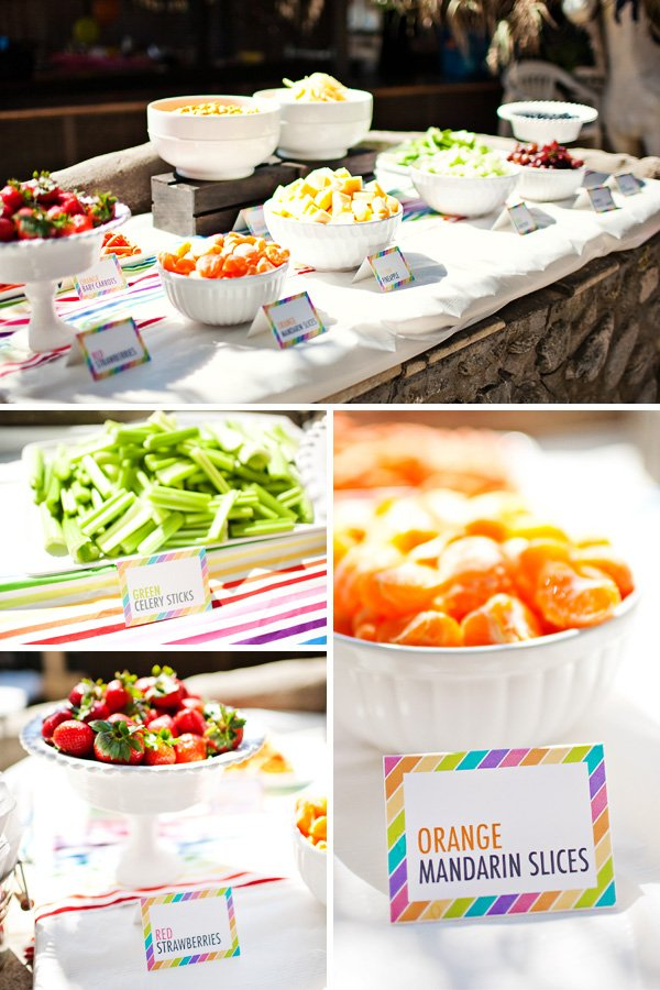 rainbow fruit bar